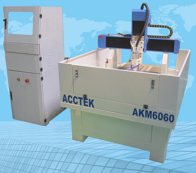 Гравировальный станок пресса-формы мягкого металла AKM6060