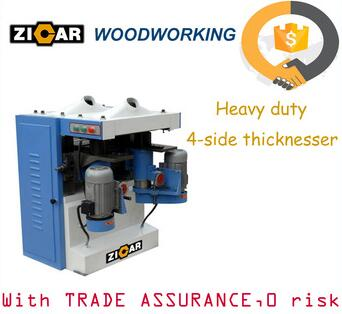best price working width 400mm four sided wood planer heavy duty 4-side planers TP404A