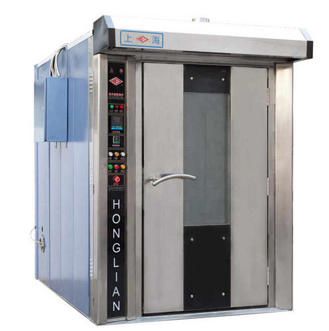 Вращающая духовка газа/топлива и электричества с двумя применениями