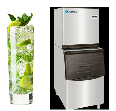 luxury and professional stainless steel automatic ice maker