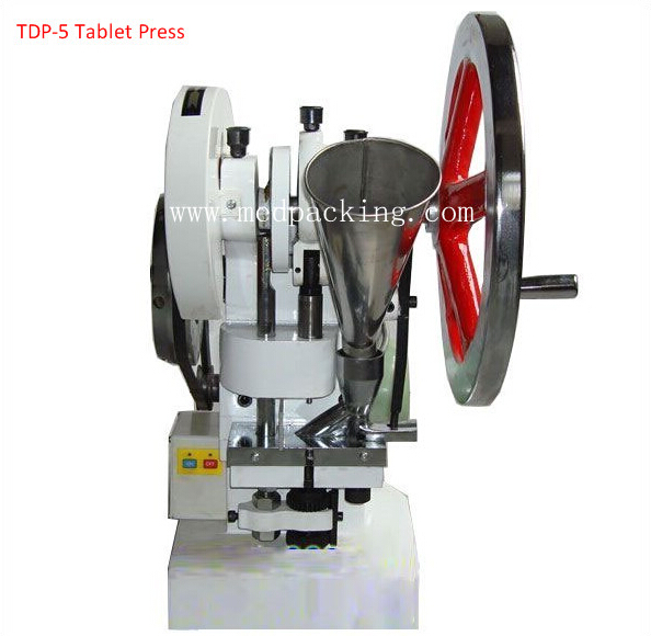 TDP6 Single Punch Tablet Presse Machine with 1 set Free Round Die YSC
