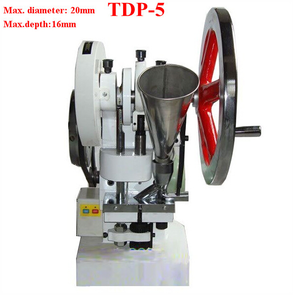 tdp5, Tablet Making Machine, Single Punch Die Tablet Press