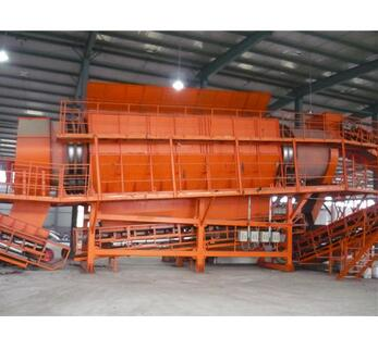 High quality first-class service waste recycling sorting production line with CE ISO
