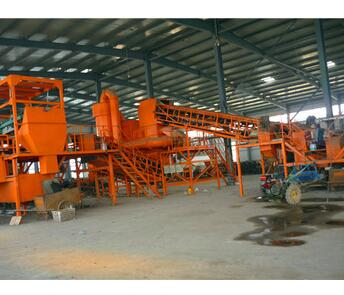 Automatic municipal waste recycling plant urban garbage sorting plant screw sorting machines for sorting msw with CE ISO