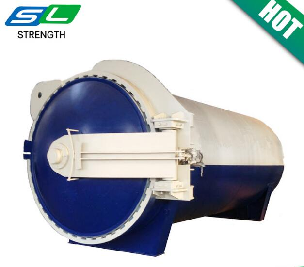 Newest type laminated glass processing autoclave with CE standard