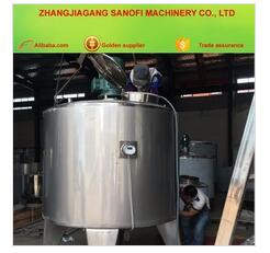 High shear mixinging Yogurt milk tank