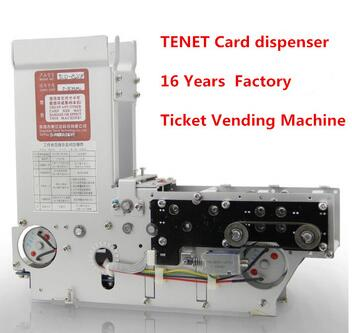 Card dispenser machine for vehicle access control TCD-820M Parking Entry Control