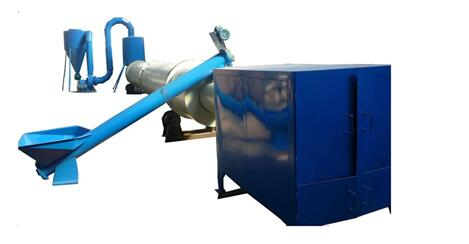 Rotary Drum Type Sawdust Drying Machine