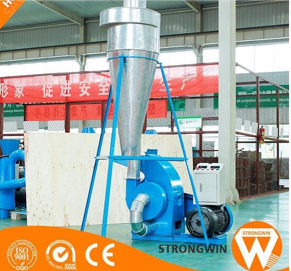 energy saving small wood palm tree crusher machine