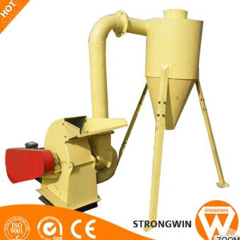 600-800kg/h small rice husk wood chip crusher machine for sale