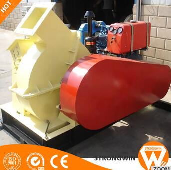 High ratings automatic wood sawdust chip crusher for wood