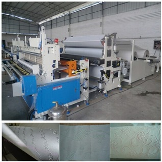 German Siements PLC Automatic High Speed Bathroom Tissue Making Machine