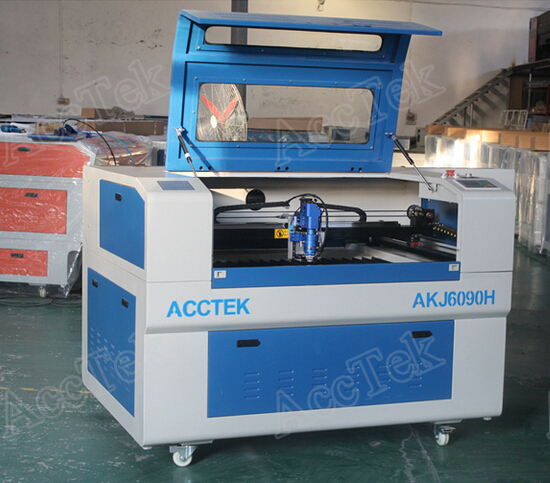 AKJ6090H Co2 laser cutting machine for metal