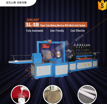 Extractable Facial Tissue Making Machine Paper Tube Machine