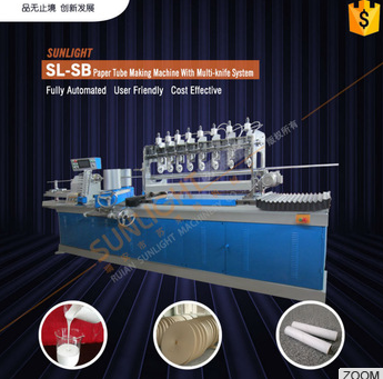 2014 Top Sale Automatic Paper Core Making Machine For Tissue Paper