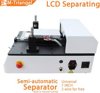 2017 Popular auto machinery Vacuum semi-automatic lcd screen assembly seperator build-in vacuum machine