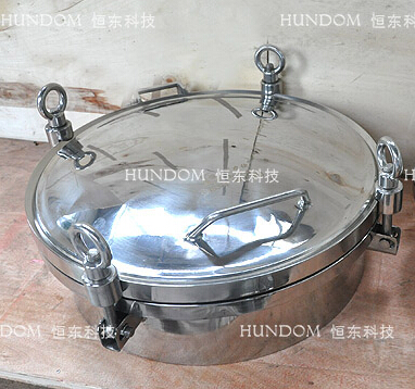 Stainless Steel Circular Manhole Covers without pressure