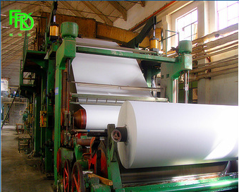 culture paper/writting and print paper making machine for sale