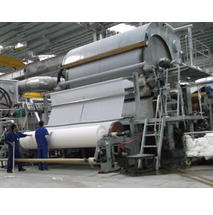 2400mm tissue toilet roll paper making machine, waste paper recycling machine in paper making