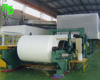 Jumbo roll/culture paper making machine