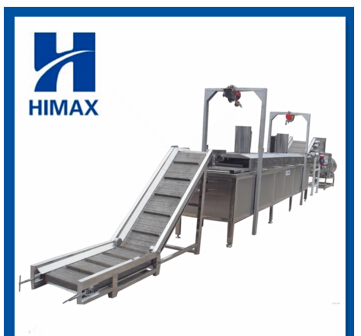 high quality and new technology automatic fresh potato chip production line with low price