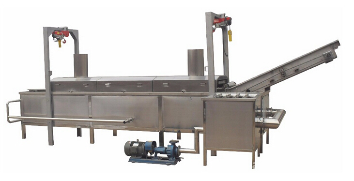 potato frying machine for fries