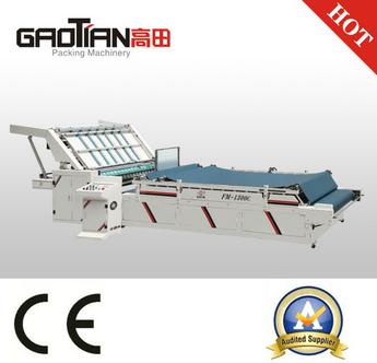 WENHOU GAOTIAN Semi-automatic Flute laminator