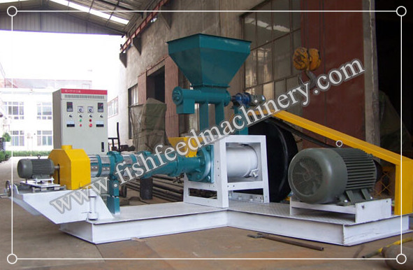 60-80kg/h Dry Type Fish Feed Extruder FY-DGP50