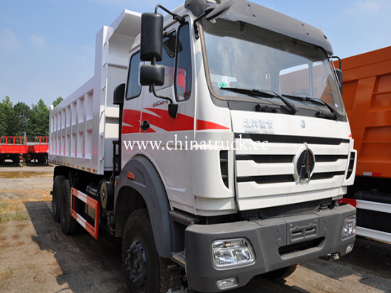 Direct sale Beiben 8x4 12 wheel 40ton dump truck