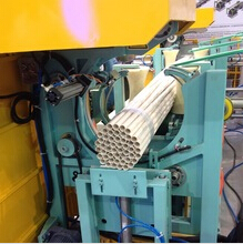 Manufacturer in PVC PPR pipe bundling and starpping machine with bagging solution