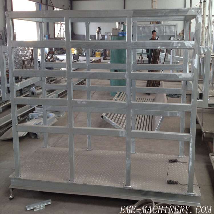 cattle weighting machine