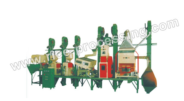 40-50T/D Integrated Rice Milling Equipment For Sale
