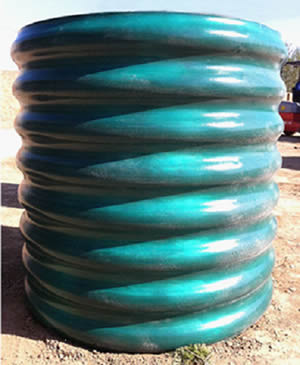 Plastic Coated Corrugated Pipe