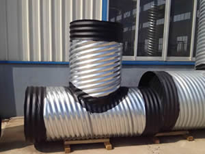 Helical Corrugated Metal Pipe
