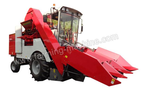 Three-row Self-propelled Corn Harvester