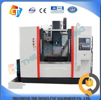 High perfoirmance VMC550 3 axis cnc vertical machining center