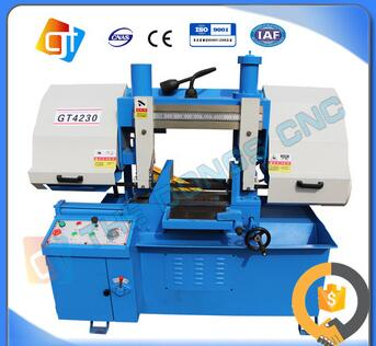 Double column horizontal metal band sawing machine GB4230 series