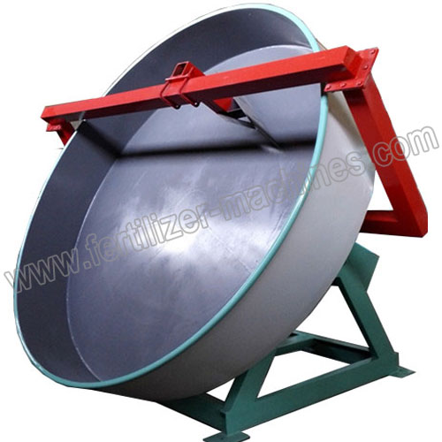 Pan Granulator Used in Compound Fertilizer Production Line