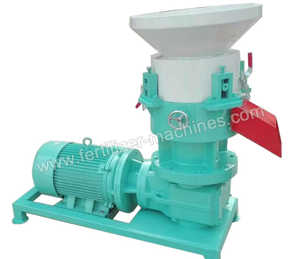 Flat Die Extrusion Granulator for Organic Fertilizer
