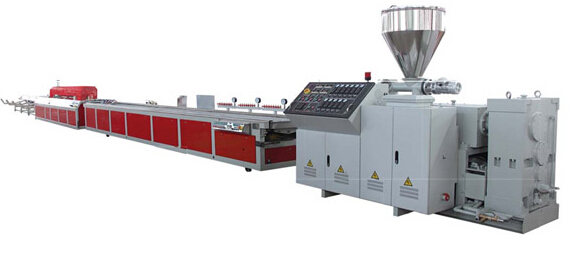 PVC\PC\PP\PE\PA Special Profile Production Line