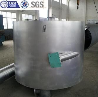 Stainless Steel Spiral cooler heat exchanger made in china