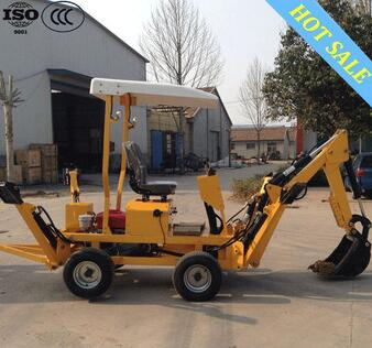 Mini towable backhoe for sale / small towable backhoe / backhoe for tractors