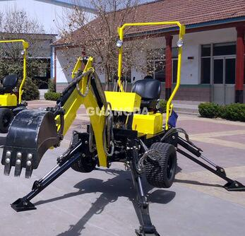 Towable backhoe/ ATV backhoe