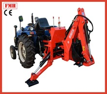 China FHM CE 3 Point Hitch Hydraulic Towable Backhoe Small Garden Towable Backhoe