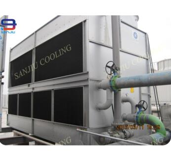 183 Ton Closed Circuit Cross Flow Cooling Tower for Commercial HVAC System