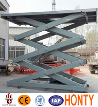 2016 Popular CE SGS Cheap price stationary scissor lift table/scissor lift platform