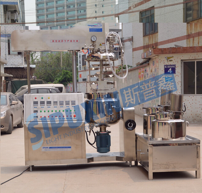 Sipuixin vacuum emulsifying homogenizer with blending motor
