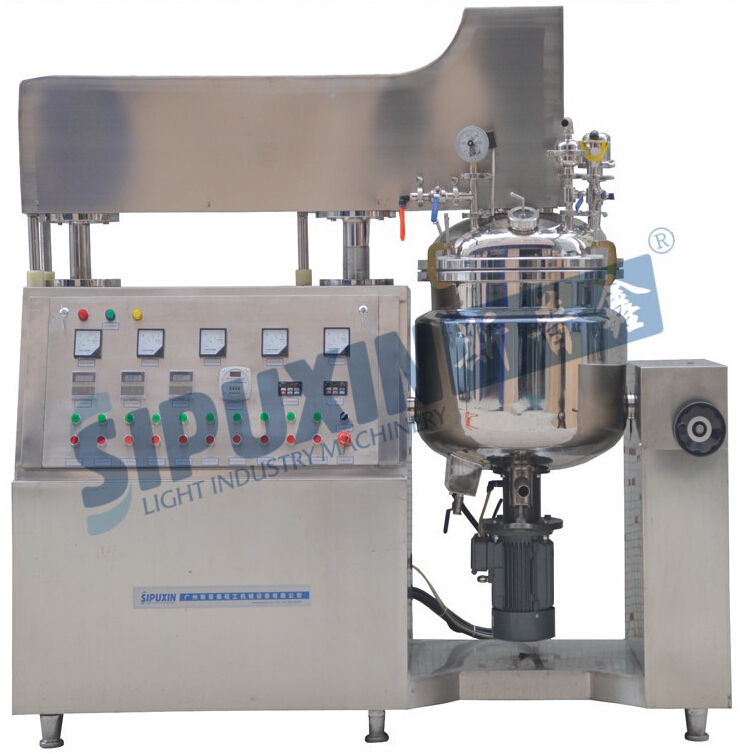 Own complete CE, GMP certificated detergent making production line optional homogenizer