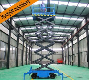 used mobile scissor lift hoist mini scissor lift table