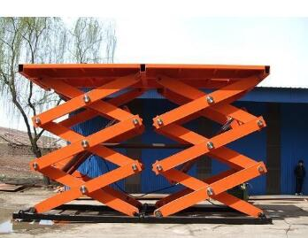 Mobile Scissor Lift Car Hoist / stationary lift work table